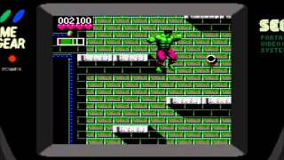 (Game Gear) The Incredible Hulk - Stage 1