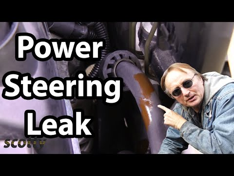 Replacing A Leaking Power Steering Hose