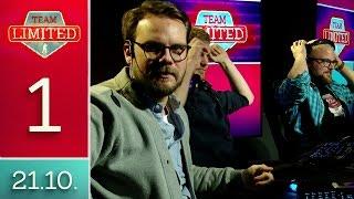 [1/2] Team Limited Counter-Strike:Global Offensive mit Etienne, Flo, Ben, Olli und René | 21.10.2016