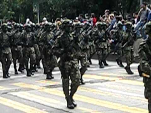 desfile militar mexico 2009