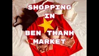 DO NOT GO SHOPING IN BEN THANH MARKET(Ho Chi Minh City- SAIGON Vietnam)