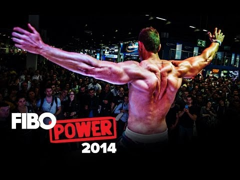 Kurt Depoorter on Trec Nutrition stand on FIBO POWER 2014