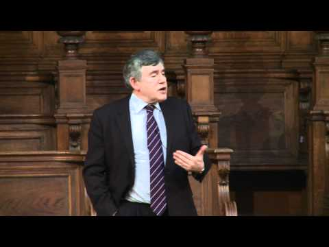 Gordon Brown - The Future of Jobs and Justice