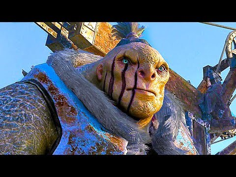 SHADOW OF WAR Gameplay Trailer (E3 2017) 4K