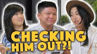 WHAT GUYS WANT TO KNOW ABOUT GIRLS ft. Julia Chow & Amanda Suk - Lunch Break!