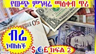 [ብሬ ኮበለለች] የኢኮኖሚ ማዕቀብ ጥሪ ወደ ህወሓት አካውንት (ክፍል 2) Ethiopian diaspora remits USD 4 billion (Part 2)- VOA