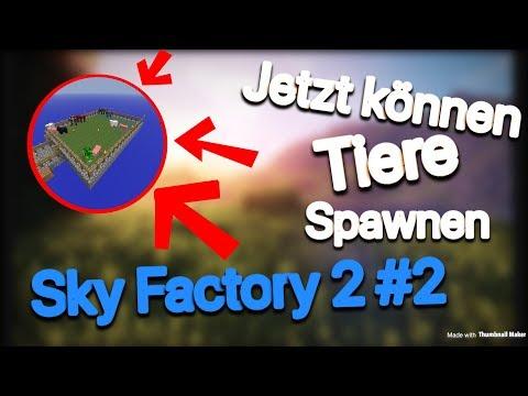 Endlich Spawnen Tiere! | Sky Factory 2 #2 | EinfachCedric