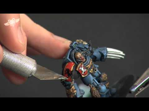 Painting a Space Wolf Terminator: Remastered... part 4 (Warhammer 40K Painting Tutorial)