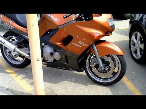 2001 Kawasaki ZX-6E ZZR 600 Ninja ZX6 Motorcycle Walkaround