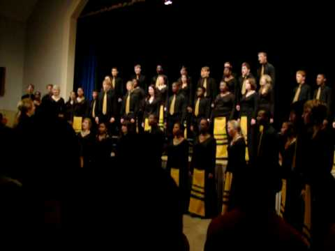 University of Pretoria Youth Choir #1- Shestopsalmiye