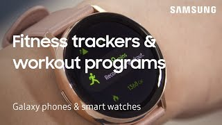 Use the Samsung Health App to workout with your Galaxy phone and watch | Samsung US