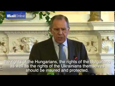 Lavrov says Russia has no plans to invade eastern Ukraine