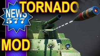 Tornado - Rewelacyjny mod - NEWS - World of Tanks