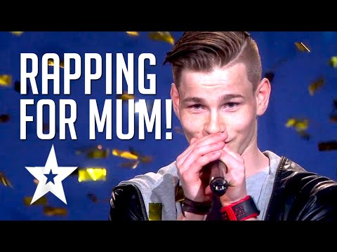 'Million Questions' Patrick Jørgensen | Rap For His Mum By Norwegian Rapper | Got Talent Global