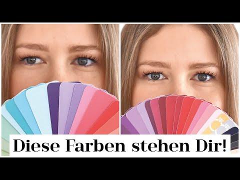 Farbtyp Light Spring & Light Summer bestimmen   Celeb Beispiele + passende Farben   Das weiße Reh