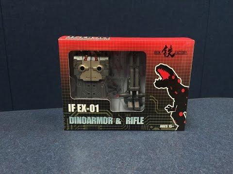 Iron Factory IF-EX01 - FoC Grimlock Upgrade Set