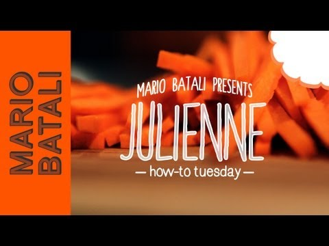How-To Tuesday: Julienne