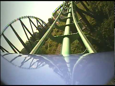 Phantom's Revenge Roller Coaster POV - Kennywood