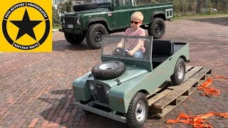 Children LAND ROVER Rebel Replicas by JACK(5) 1st DRIVE TEST