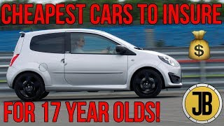 Top 5 CHEAP First Cars with CHEAP INSURANCE for Young Drivers! (LESS THAN £2,000)