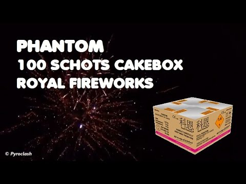Phantom 100's Box | Royal Fireworks | NYE 15/16
