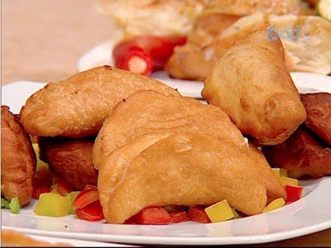 فطائر الجبنه الهشه - فطائر مقليه الشيف #غاده_مصطفي من برنامج #البلدى_يوكل #فوود