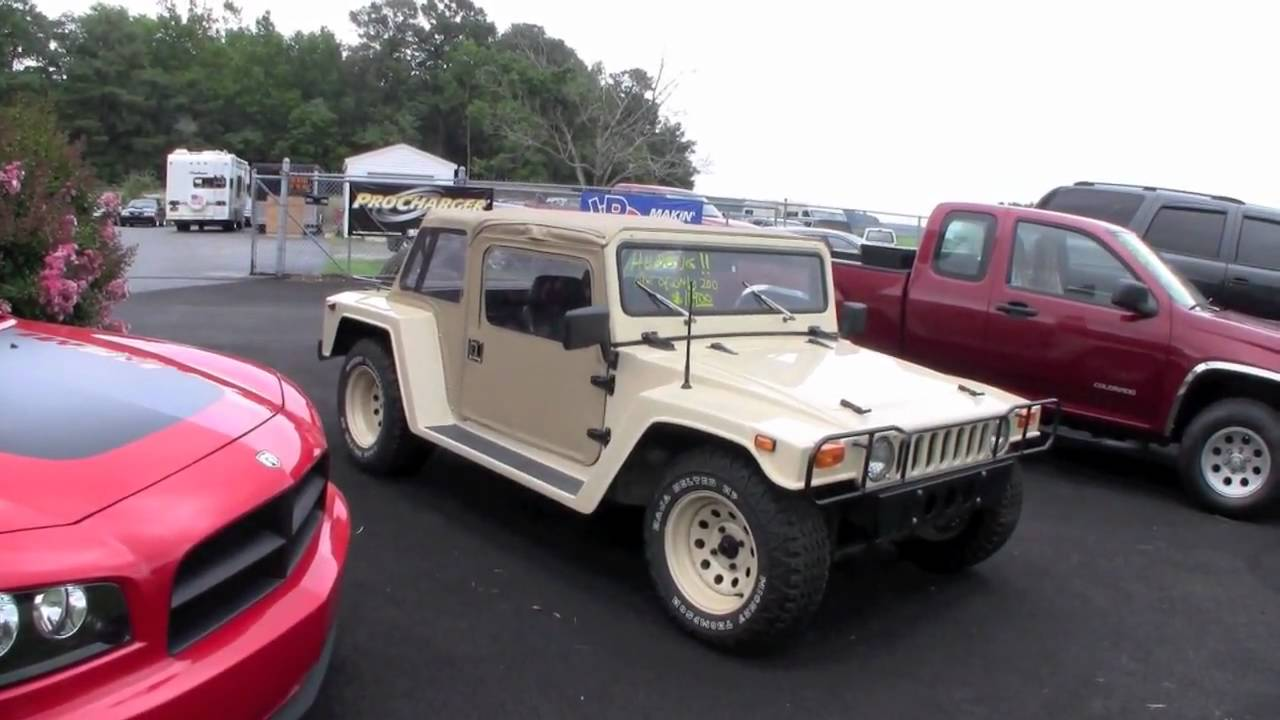 The Humbug A Hummer H1 Body On A Vw Beetle Chassis Youtube