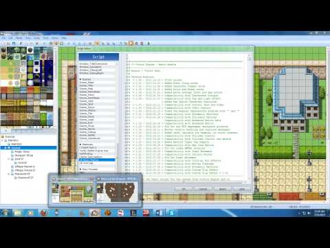 RPG Maker VX Ace Tutorial Series Episode 7 - Custom Scripts
