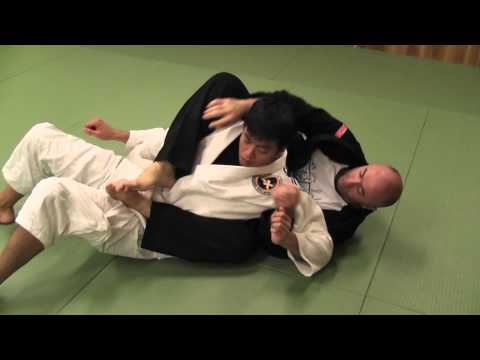 BJJ Open Guard Sweep Image 1