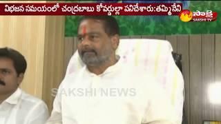 Tammineni Sitaram Commnets On TDP Mahanadu ||  'టీడీపీని భూస్థాపితం చేసారు'