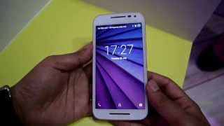 Motorola Moto G 3rd Generation Hands-on Review. Display, camera and specifications test