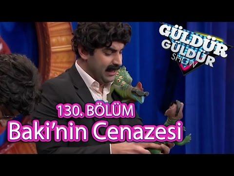 Güldür Güldür Show 130. Bölüm, Baki'nin Cenazesi Skeci