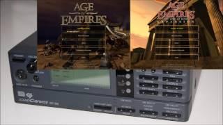 Age of Empires MIDI Soundtrack - Roland SC-88