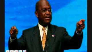 "Herman Cain Speaks to the NRA Convention: ""We"
