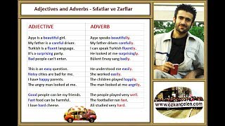 23. Adjectives and Adverbs - Sıfatlar ve Zarflar