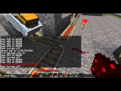 Minecraft - Les MDC 24 Tuto des coffres à la demande