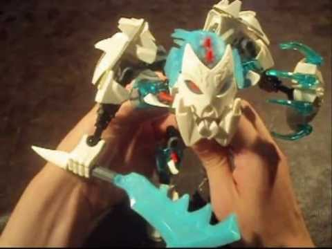 Hero Factory Brain Attack Wave 2 Review: Frost Beast