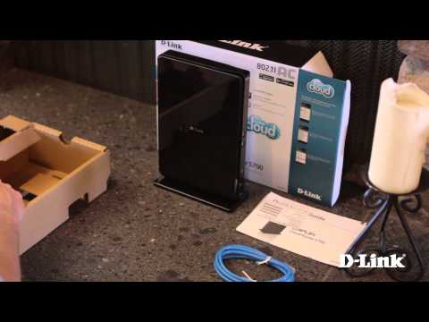 Getting Started: Wireless AC1750 Dual Band Gigabit Cloud Router (DIR-865L)