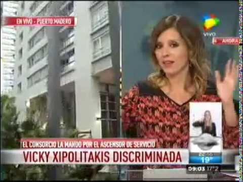 Los vecinos de Le Parc ya le tiraron la bronca a Vicky Xipolitakis