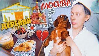 Из Москвички в Деревенскую чику  VLOG Что я ем за день?