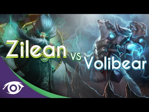 1v1 Mid: Zilean vs Volibear [Champion Rap Battles]