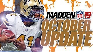 THE RUNNING GAME IS BACK! Madden 19 October Title Update