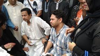 নায়করাজ রাজ্জাক শেষবারের মতো এফডিসিতে || Iconic actor Razzak at BFDC For the Last Time