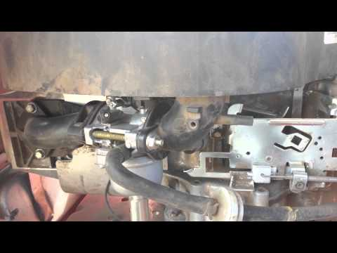 Troy Built Pony 17 HP Briggs & Stratton Governor/Idle Issues