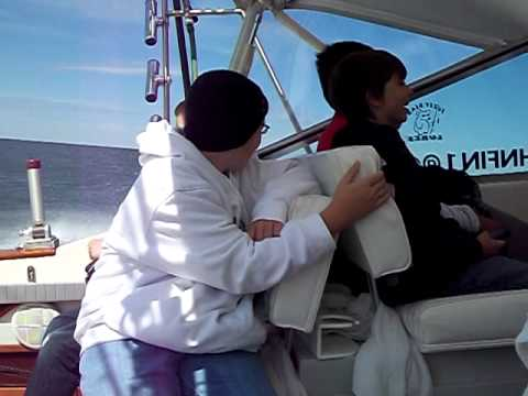 7th grade Saugatuck Charter Fishing Trip