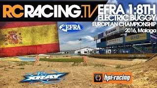 EFRA 1/8th Electric Buggy Euros - Sunday - Finals Day