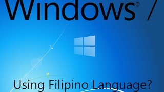download lagu Windows 7 In Filipino Tagalog? gratis