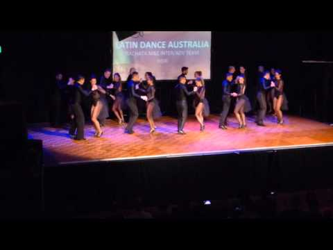 2016 Sydney International Bachata Festival - M&E Bachata team