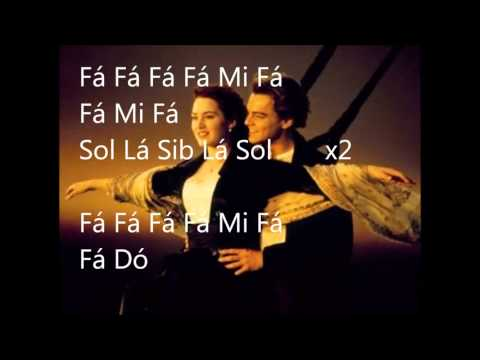 Notas Flauta Doce Titanic Notas de Flauta Doce-titanic