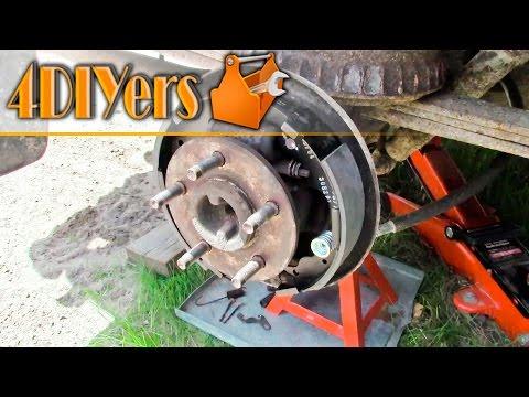 DIY: Ford Ranger Drum Brake Replacement